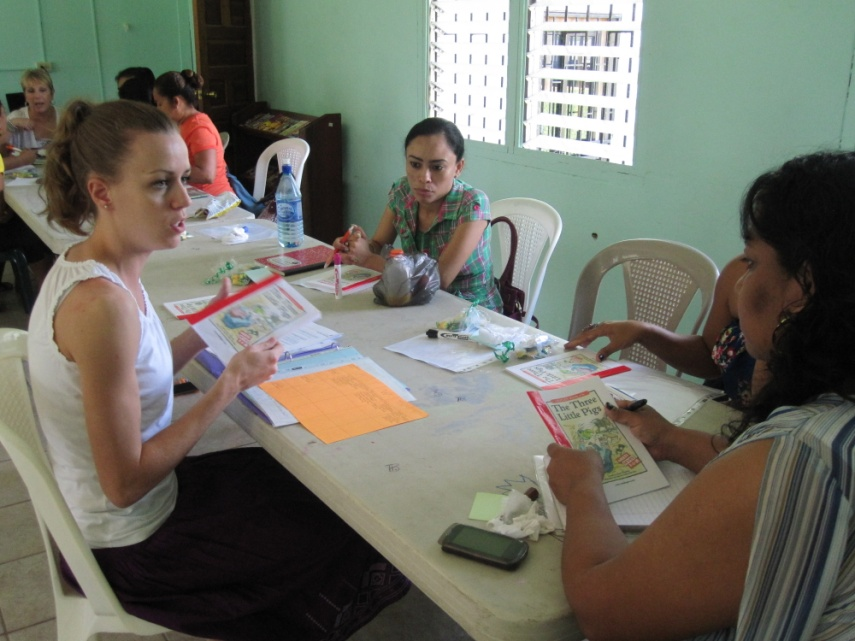 Students learn about diversity in Belize