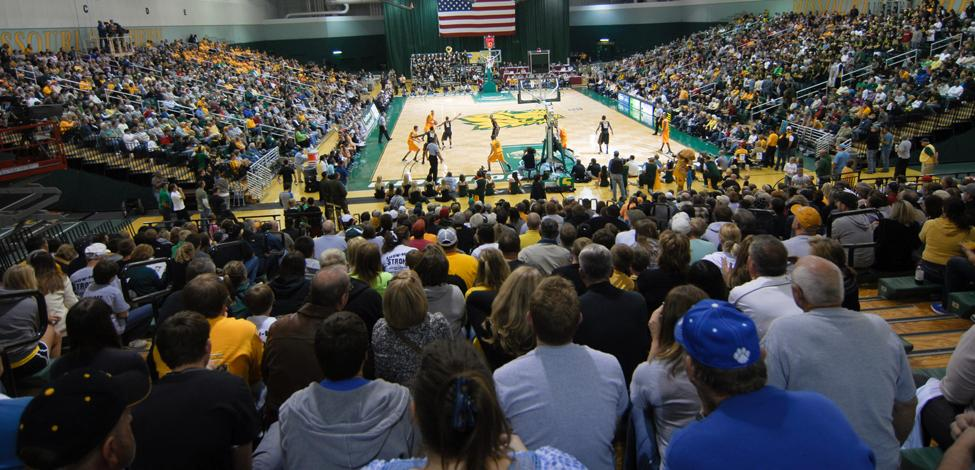 MSSU men's basketball ranks 15th in Division II attendance