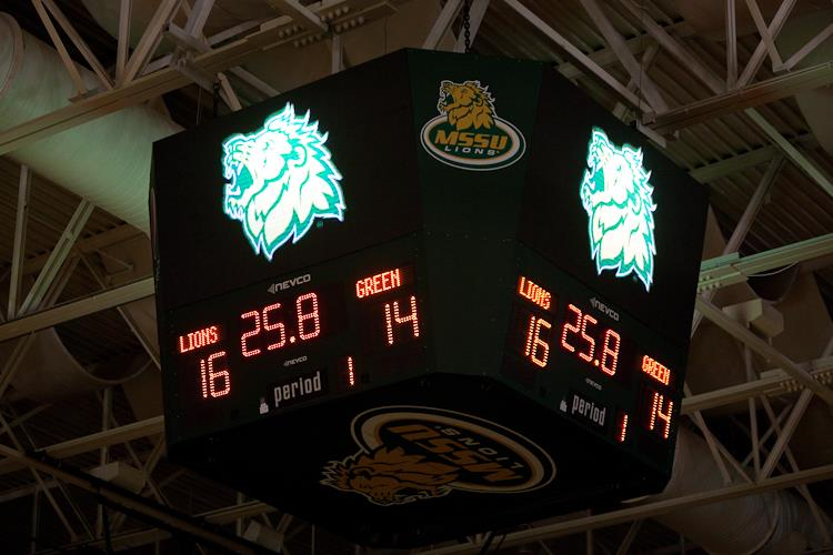 New video scoreboard revealed at athletic center