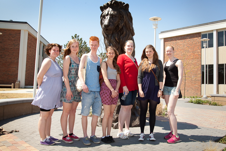 Swedish students visit Southern as part of annual exchange program