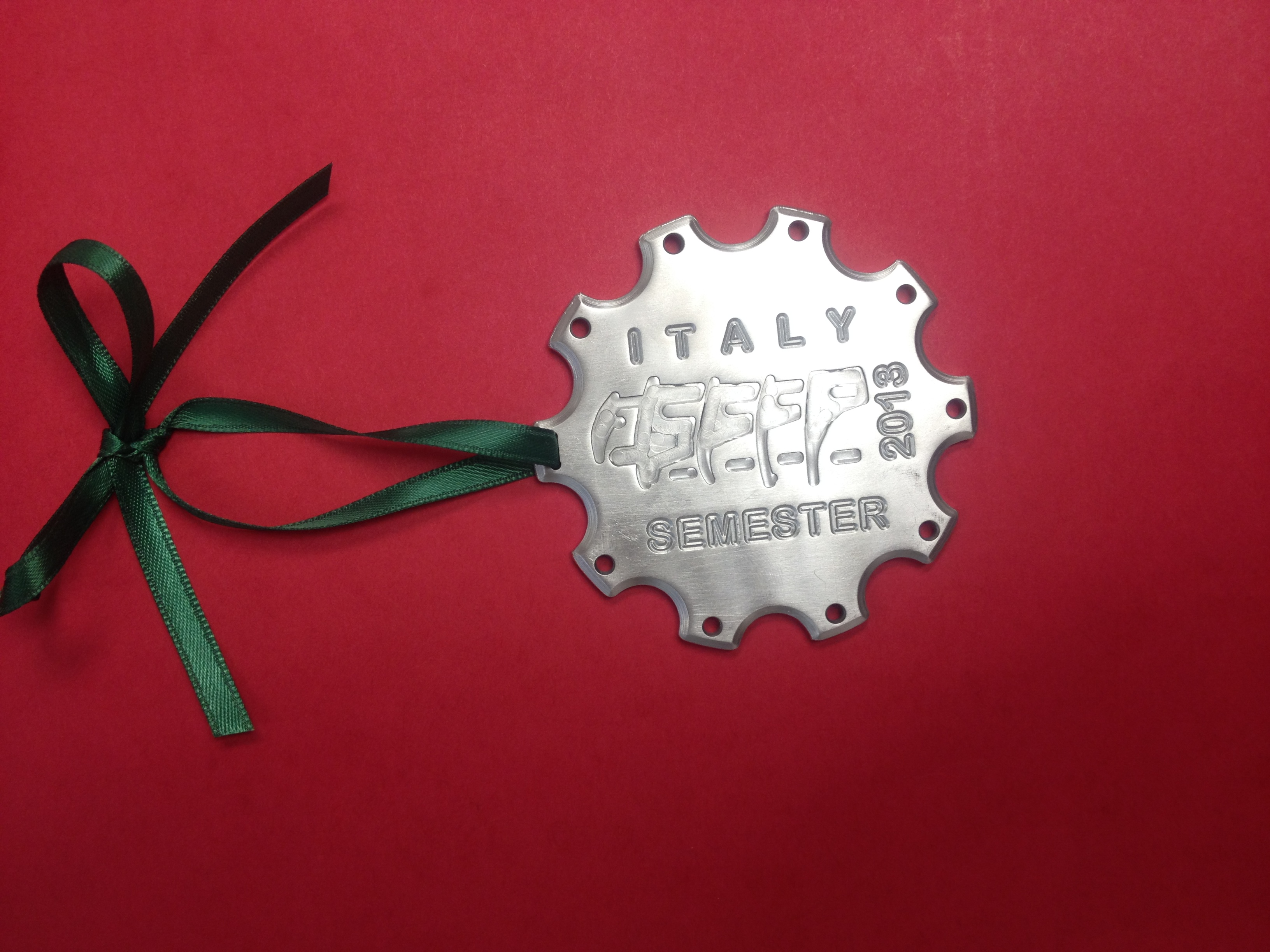 Italy Semester-themed ornaments for sale
