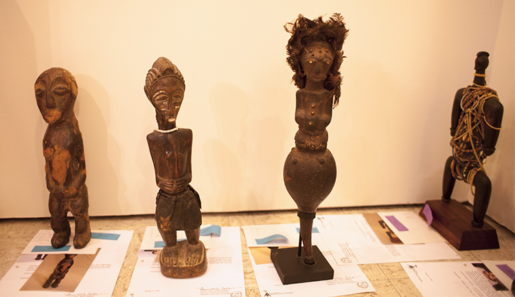 Art department working to catalog extensive African art collection
