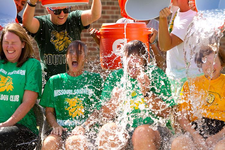 Ice Bucket Challenge sweeps Missouri Southern campus