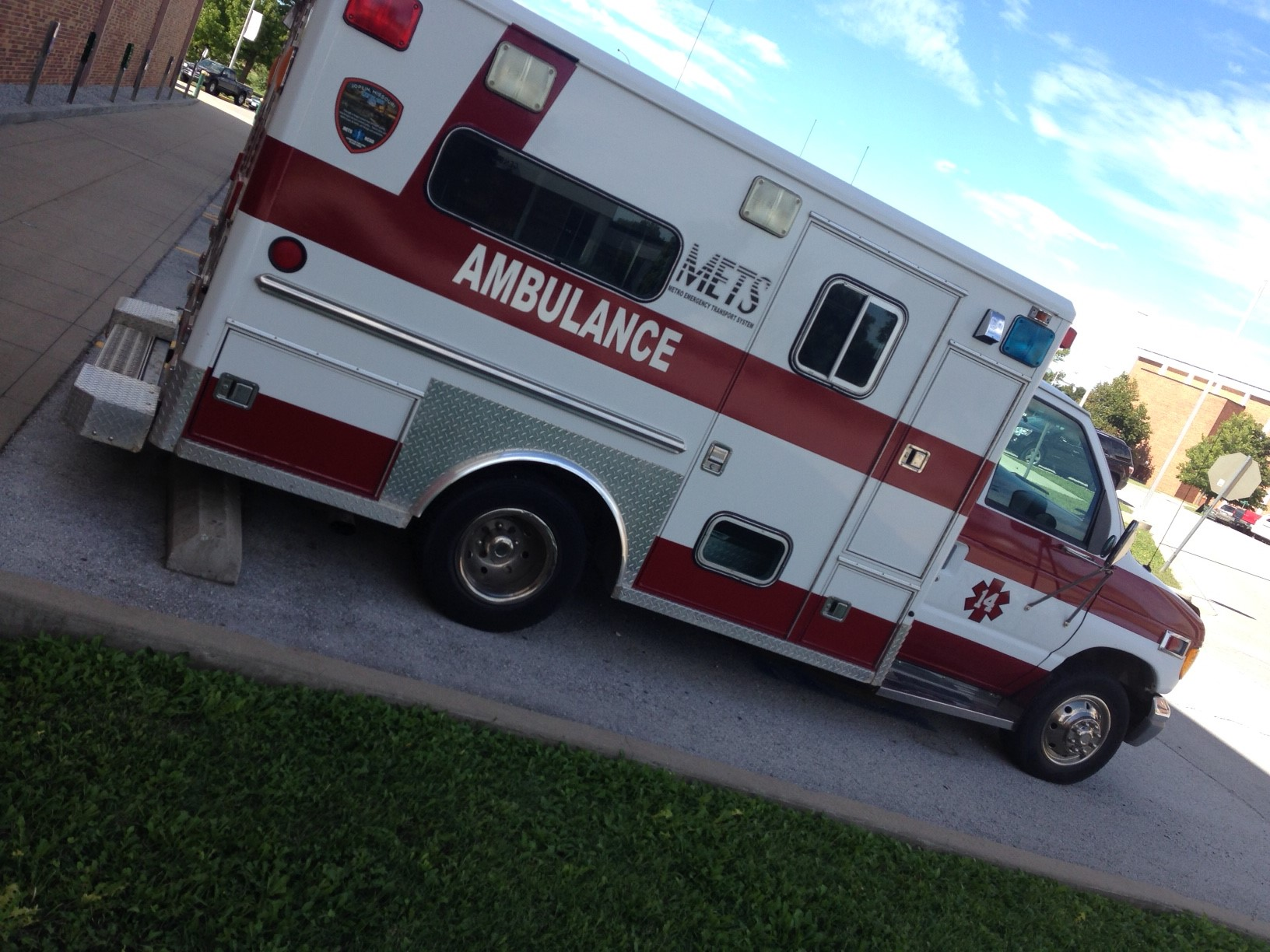Ambulance donated to EMS department