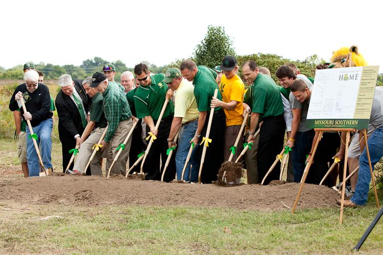 Groundbreaking held at site of new baseball stadium