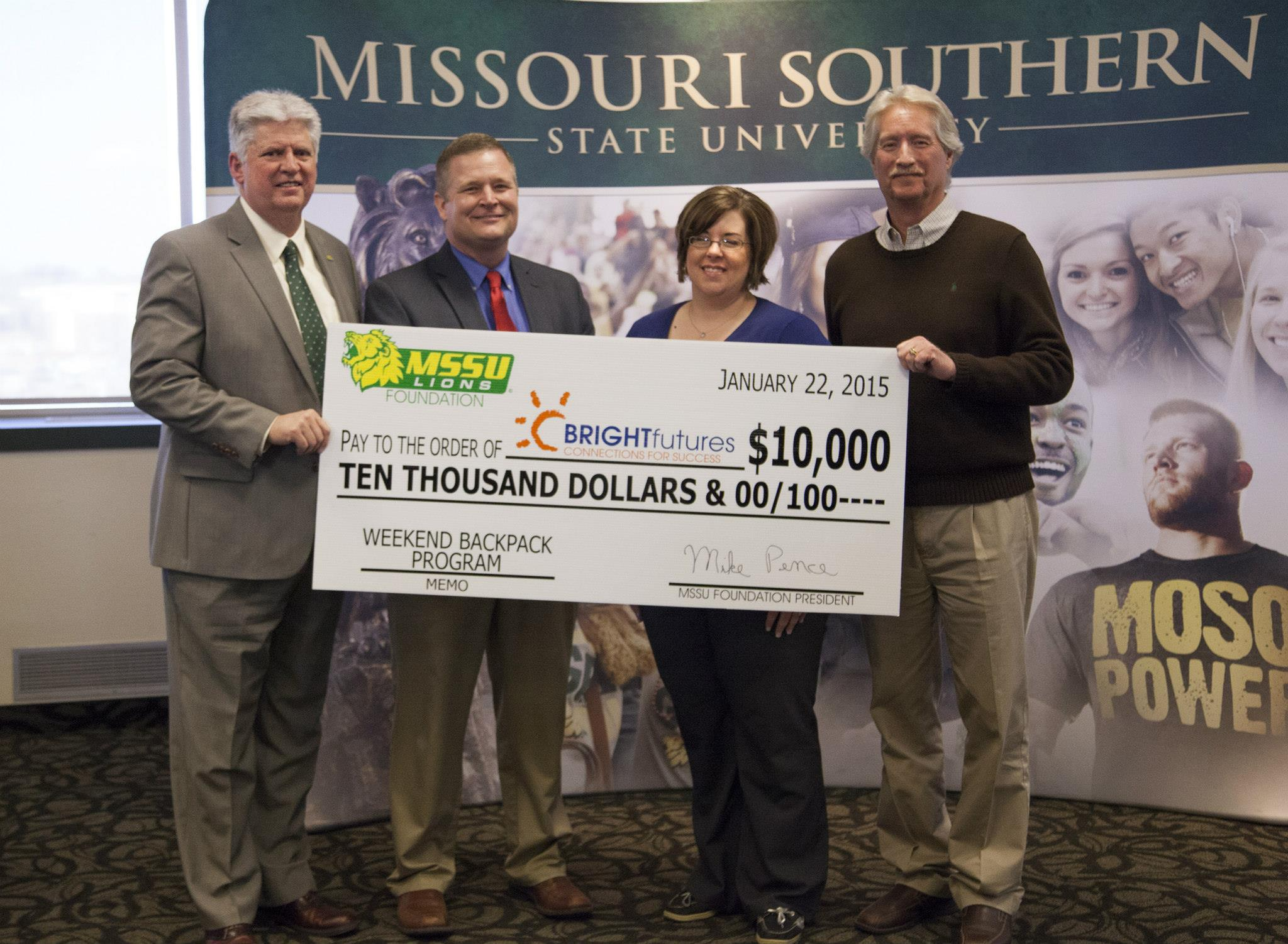 $80,000 presented to area backpack programs
