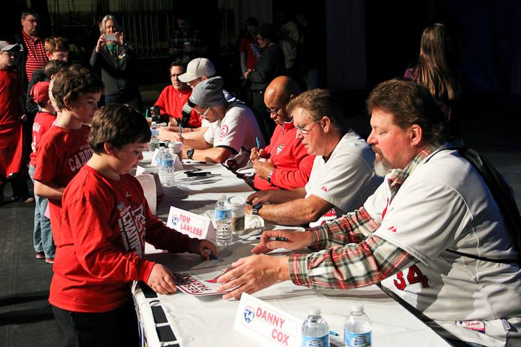 Players announced for Cardinals Caravan event