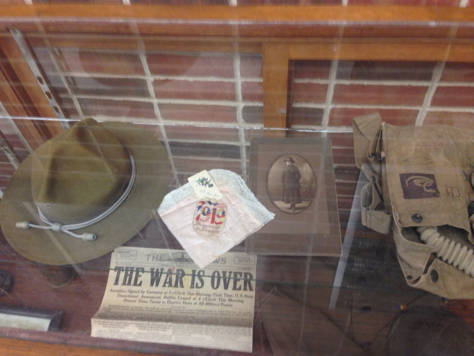World War I collection on display in Taylor Performing Arts Center