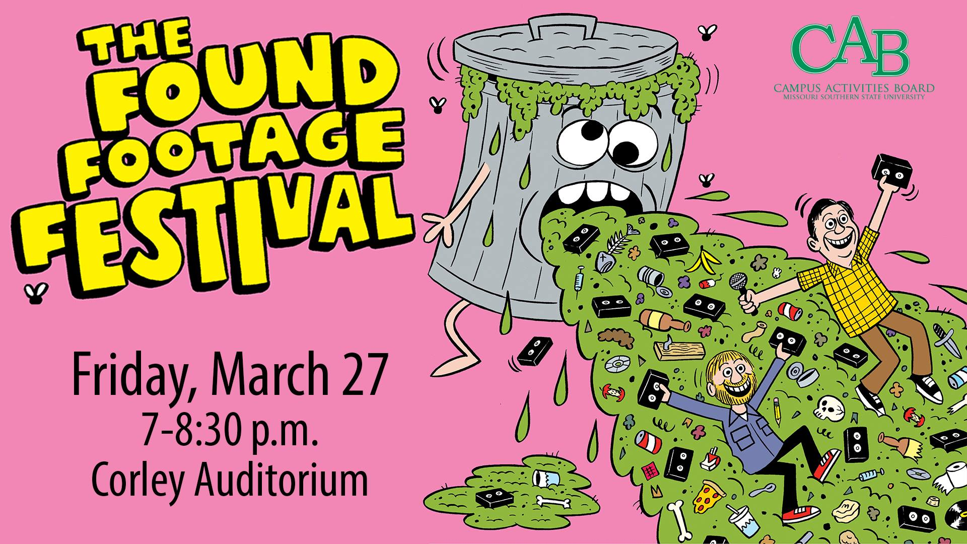 Found Footage Festival set for March 27