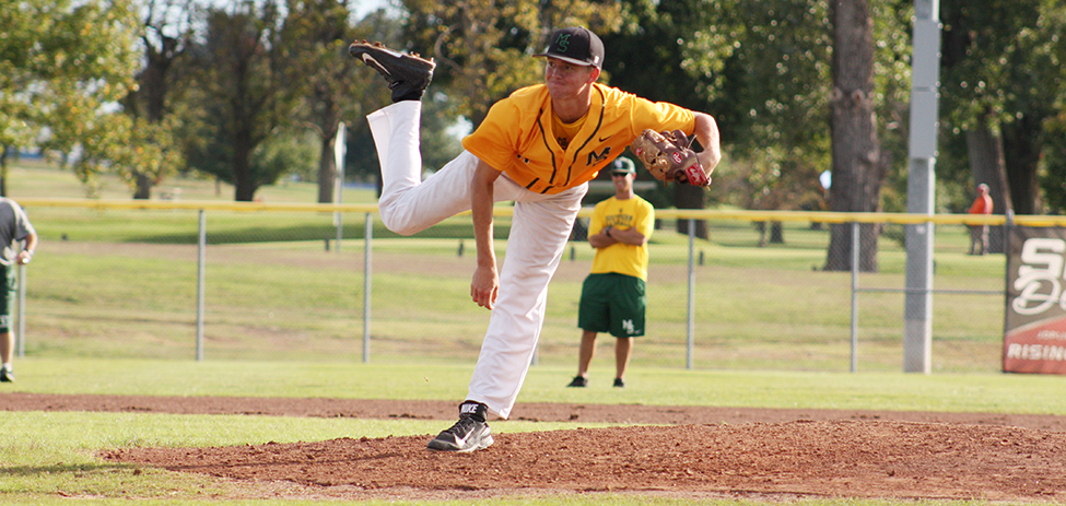 Sean Goostree no-hits Pittsburg State as No. 29 Lions split non-conference double-header