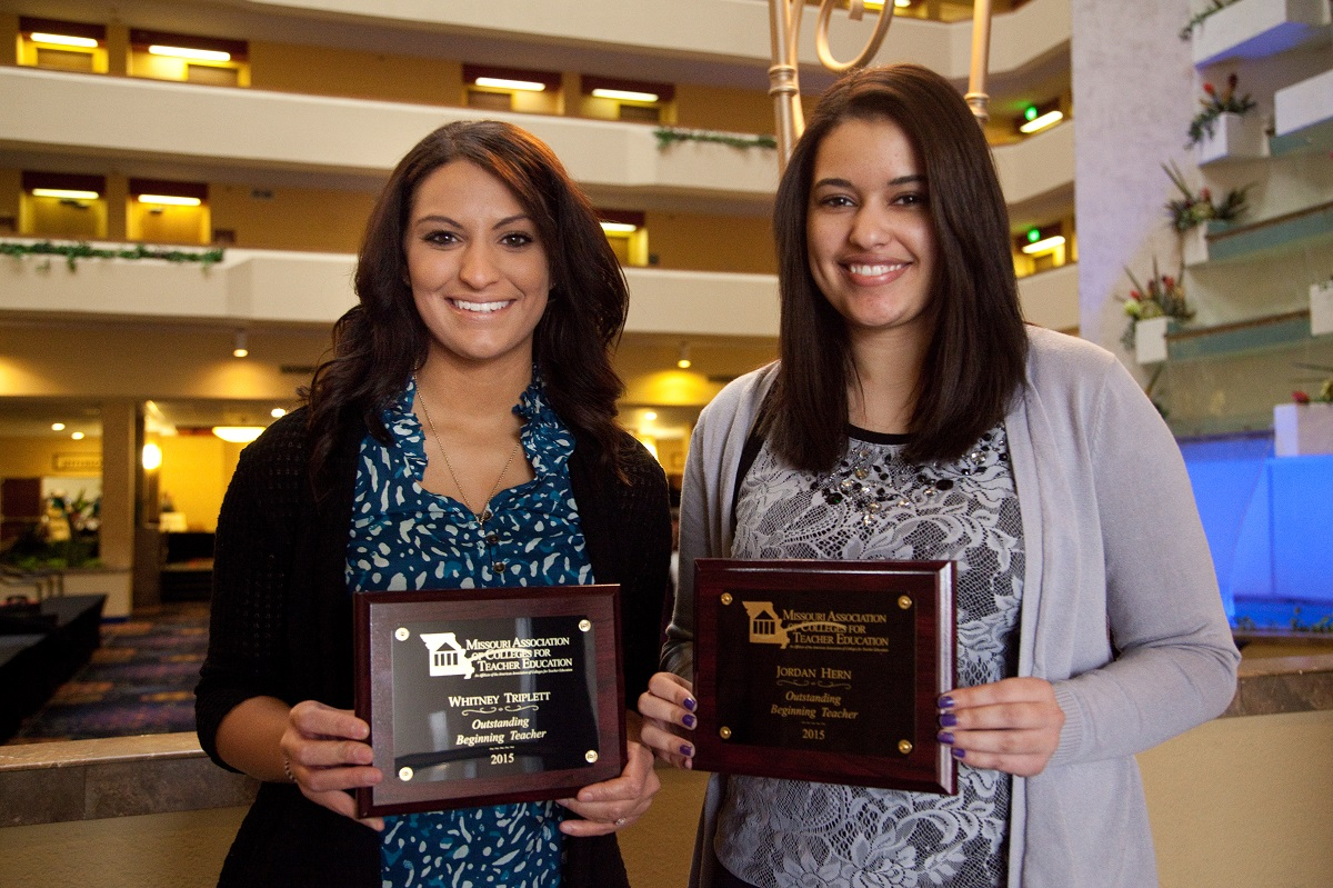 MSSU grads honored as Outstanding Beginning Teachers
