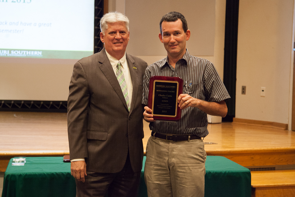Missouri Southern honors Outstanding Teachers, Advisor