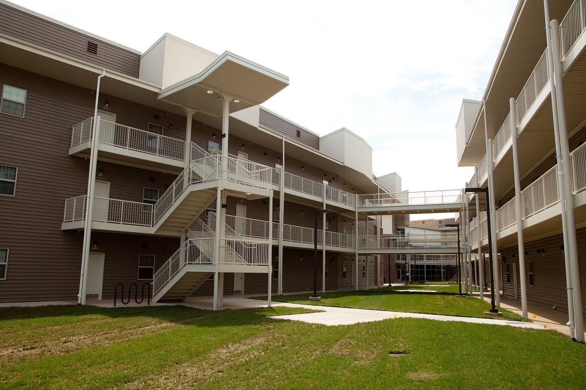 Ribbon cutting planned for new residence hall complex
