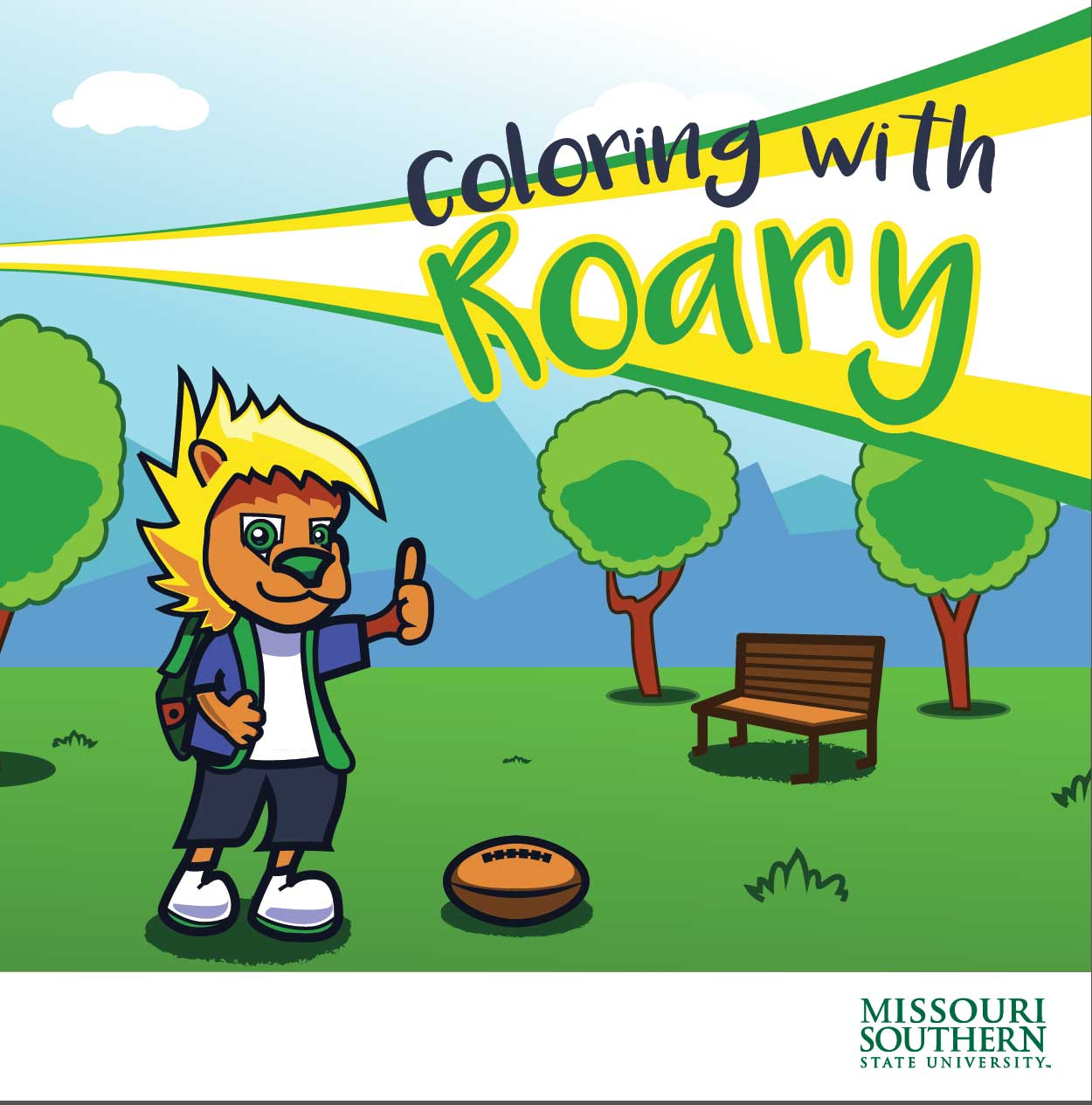 University mascot takes center stage in 'Coloring with Roary'
