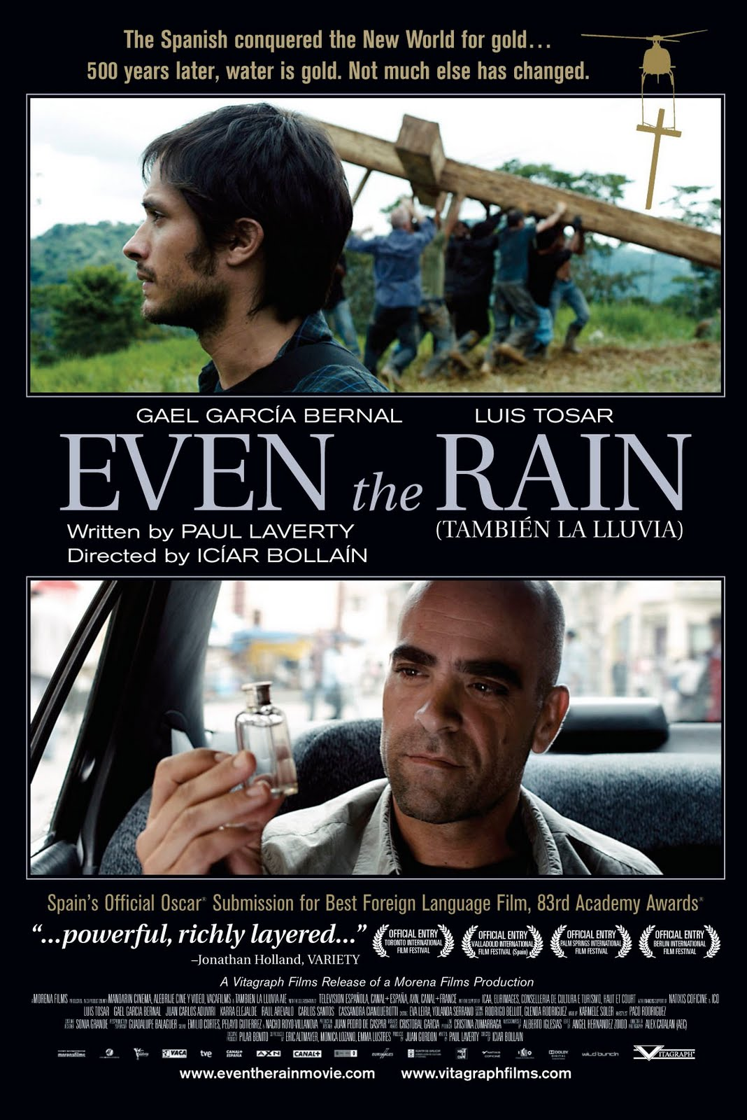 Film fest continues with 'Even the Rain'