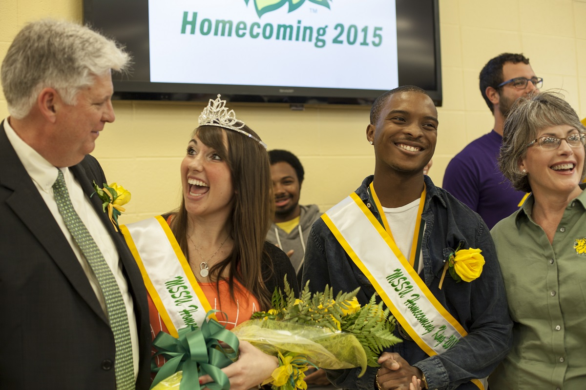 Carlock, Wise crowned Homecoming King and Queen