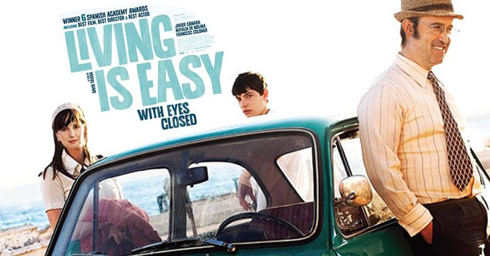 Film fest presents 'Living is Easy with Eyes Closed