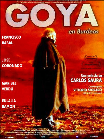 Film fest continues with 'Goya in Bordeaux'