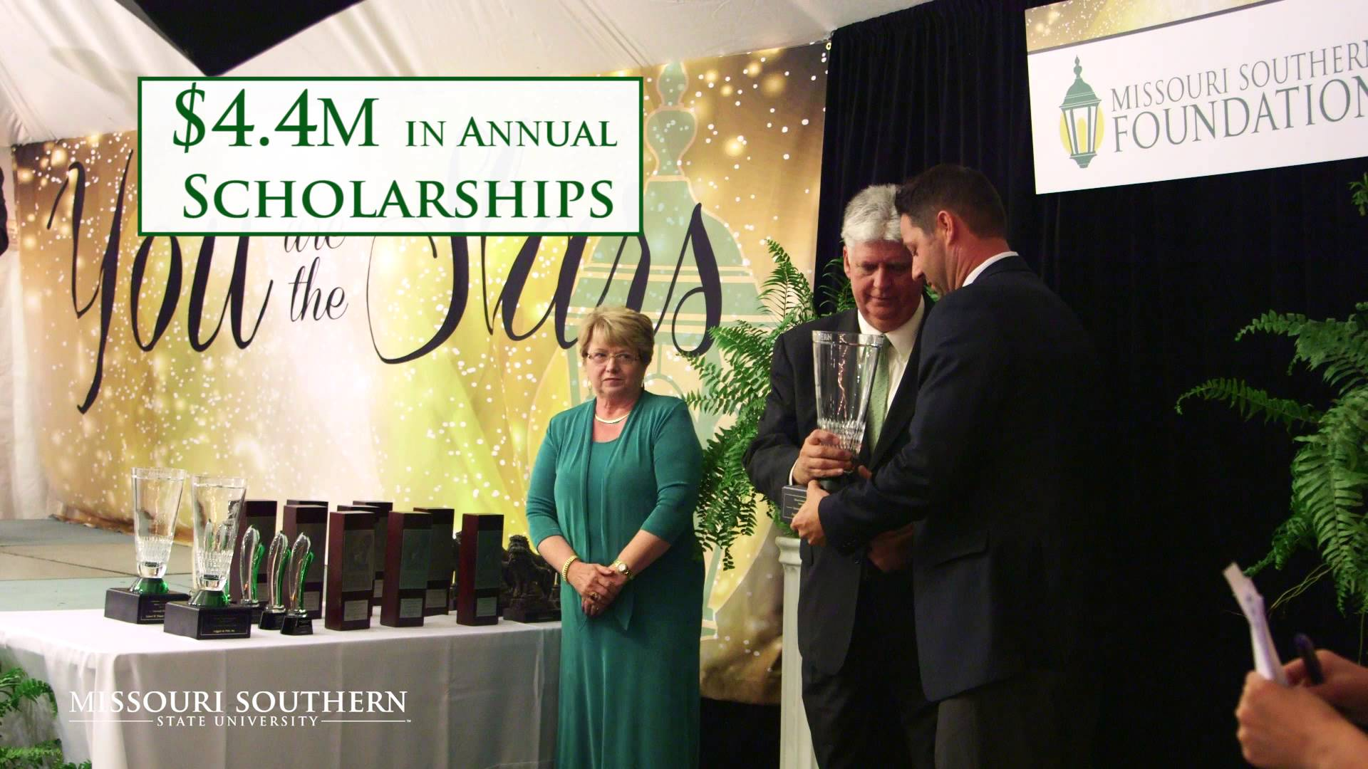 New Missouri Southern commercial airing on TV