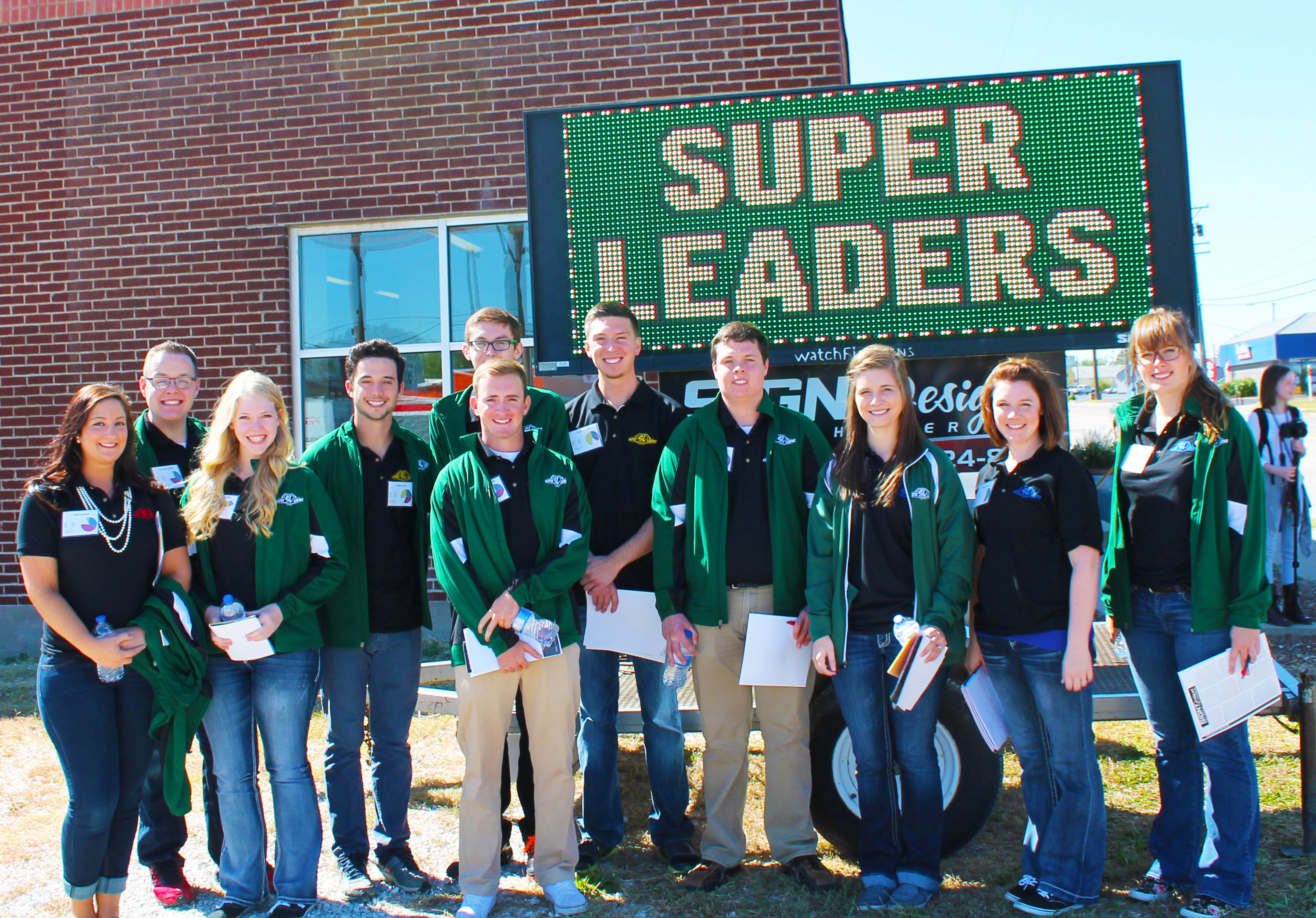 Eleven students to be honored during Super Leaders induction