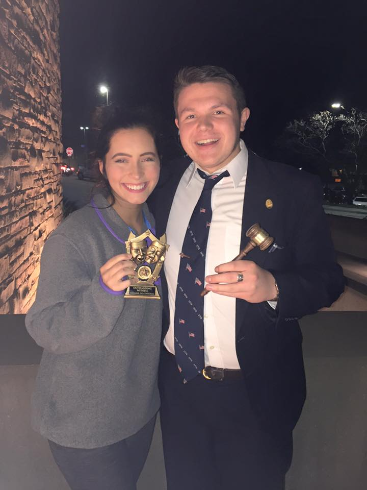 Students honored at Jayhawk Invitational Mock Trial Tournament
