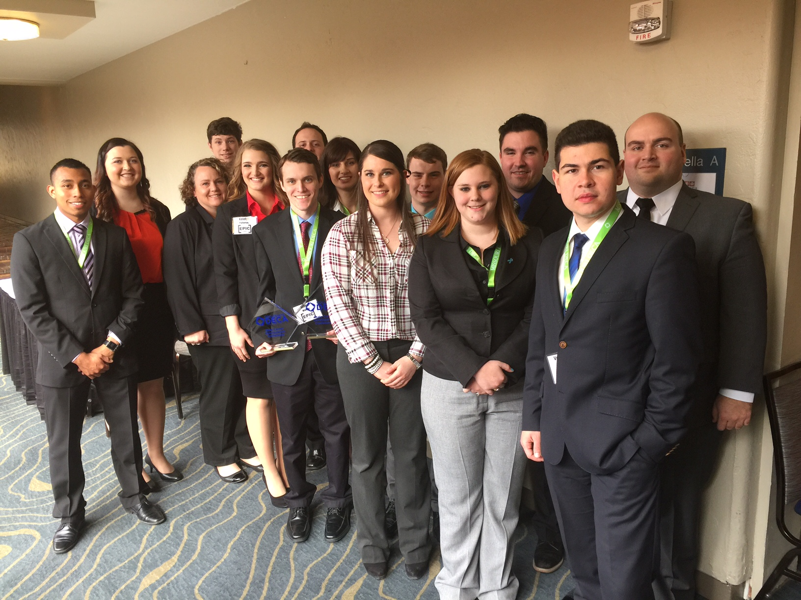 C-DECA members qualify for national competition
