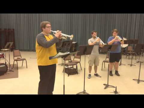 VIDEO: Trumpet ensemble to perform at Anaheim conference
