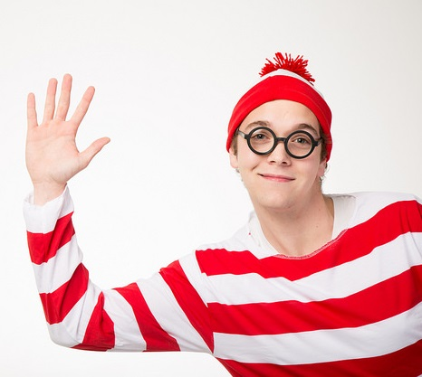 Where's Waldo raffle to benefit Sigma Pi