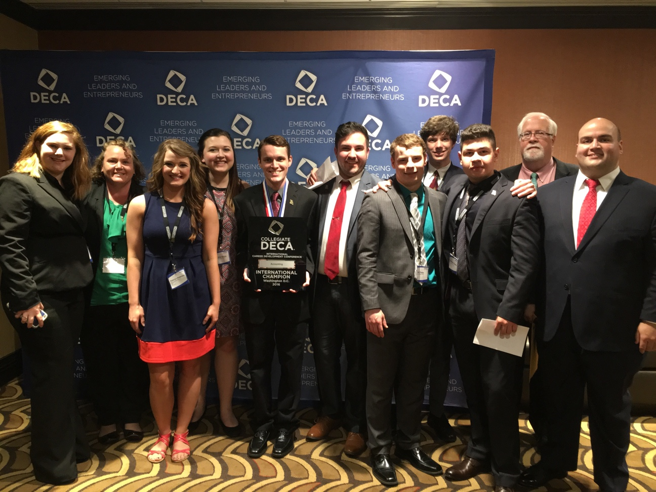 C-DECA members earn national honors