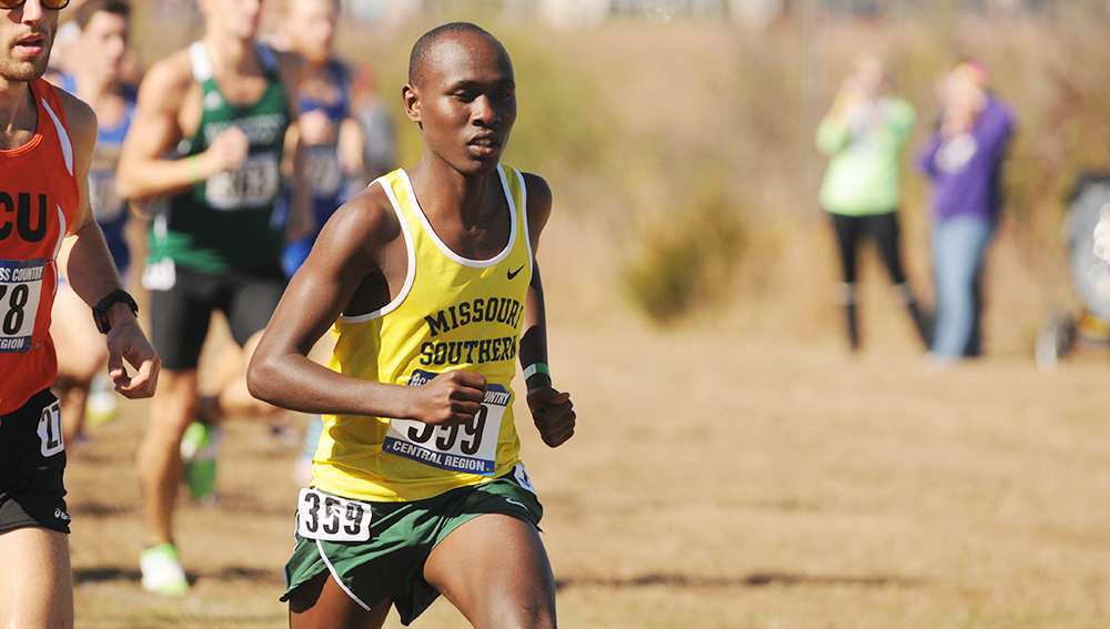 Vincent Kiprop Named MIAA Track Athlete of the Week