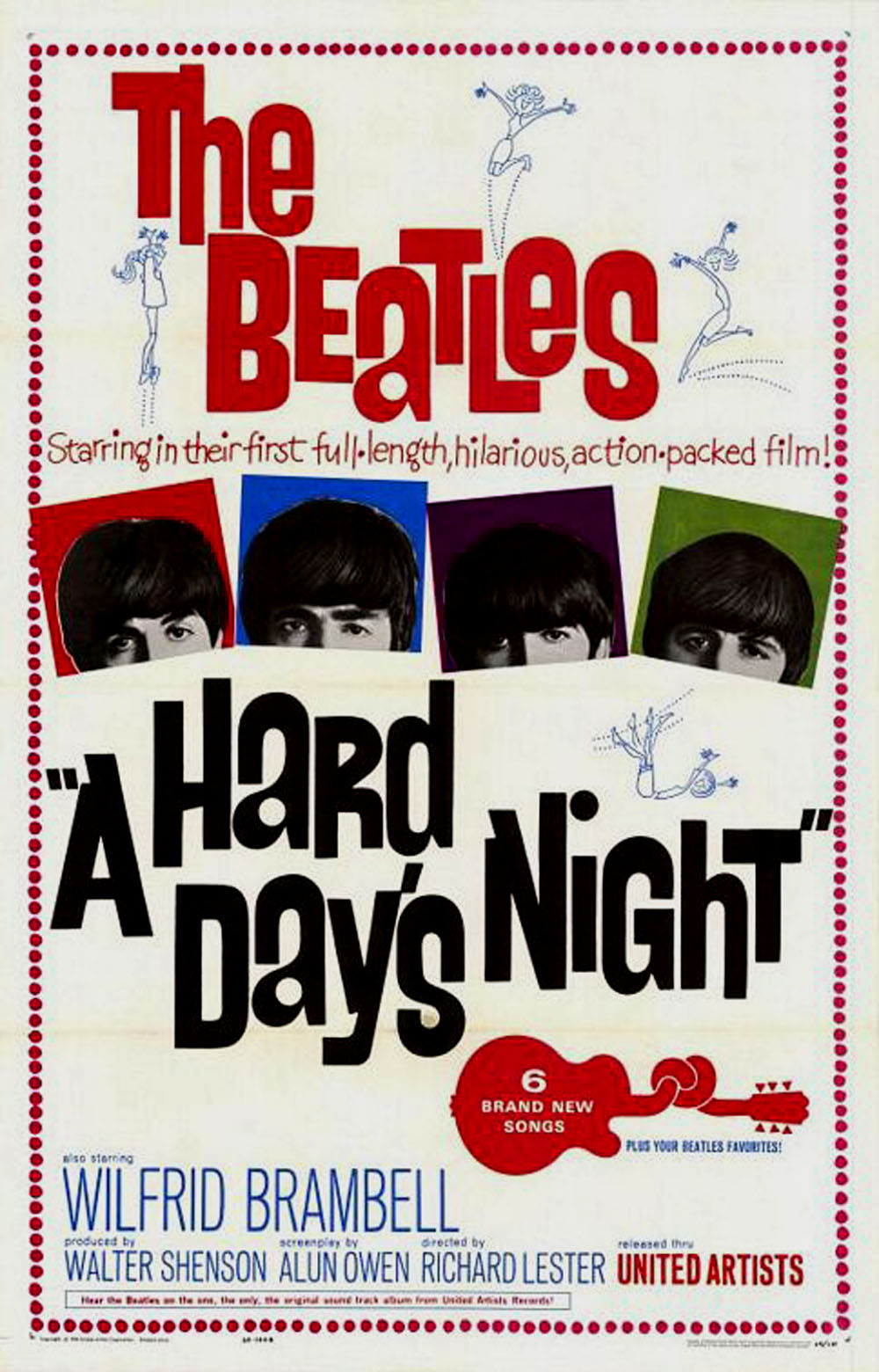 'A Hard Day's Night' to open film fest