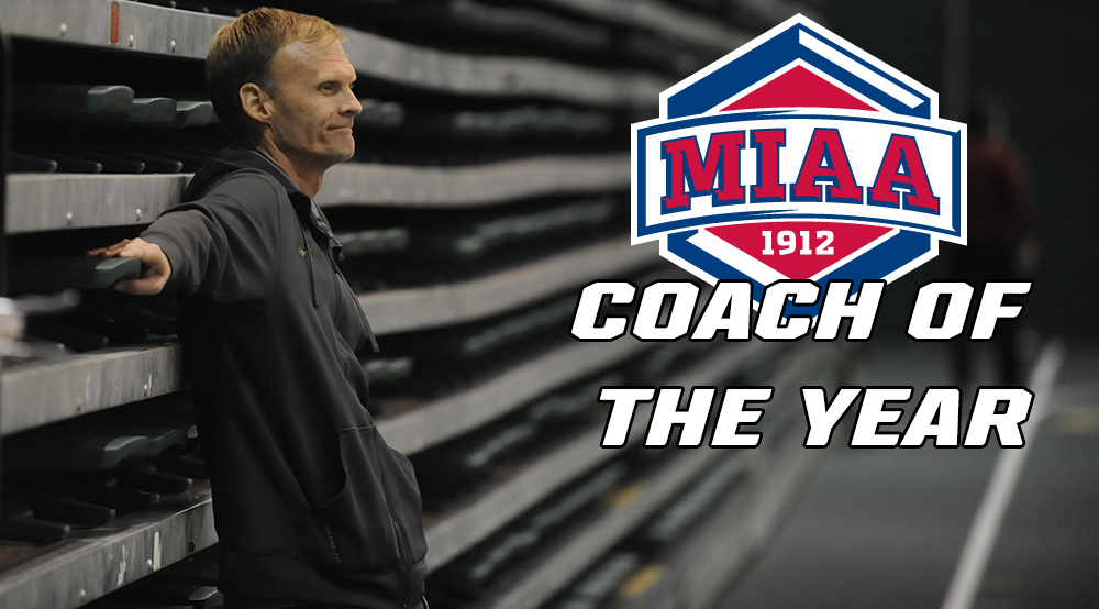 Jamie Burnham Named MIAA Men's Cross Country Coach of the Year
