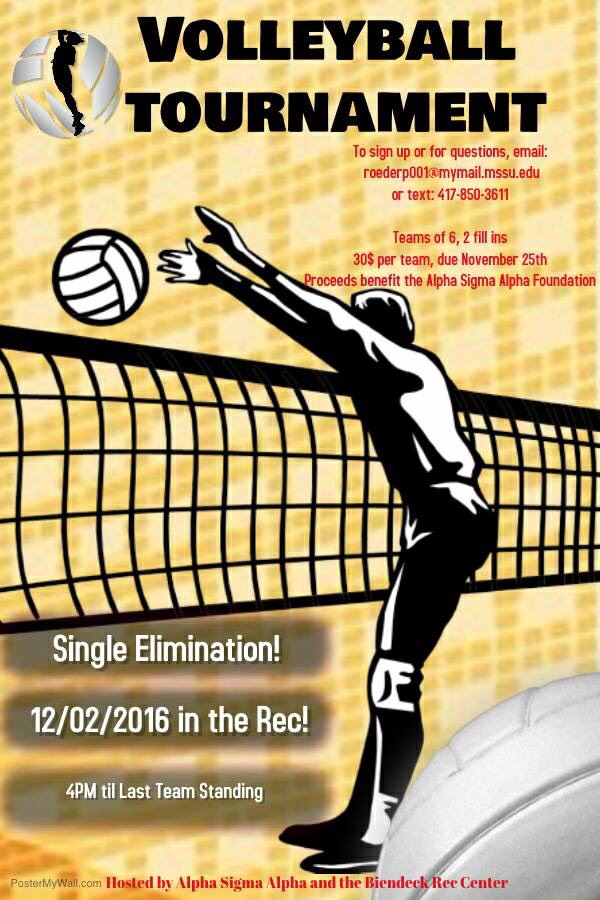 Alpha Sigma Alpha to host volleyball tournament