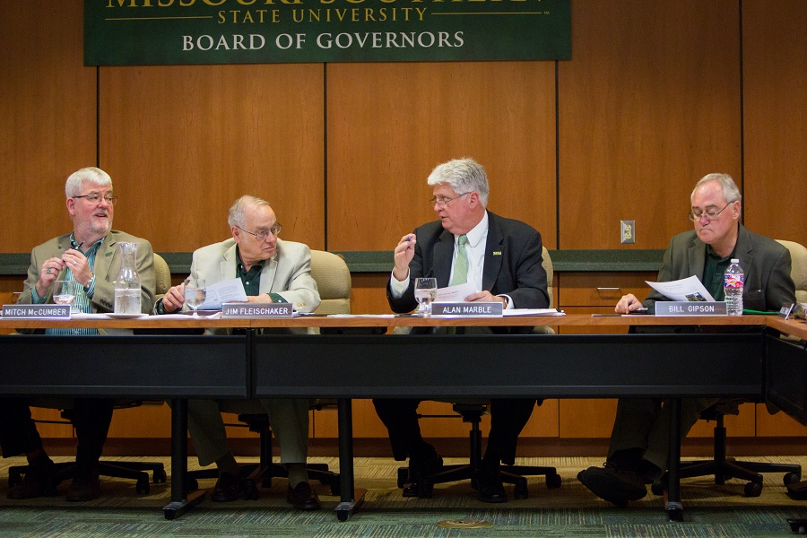 Board of Governors, committee meetings set for Jan. 25