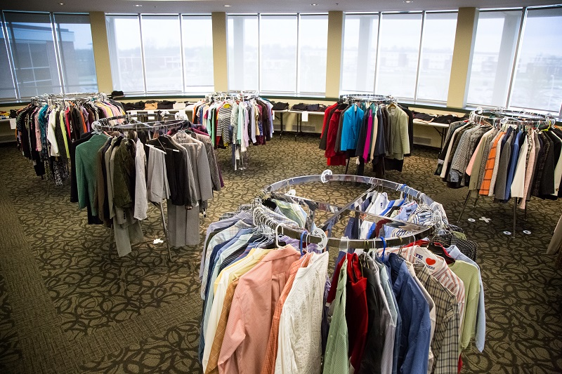 Dress to Impress clothing donations, volunteers needed