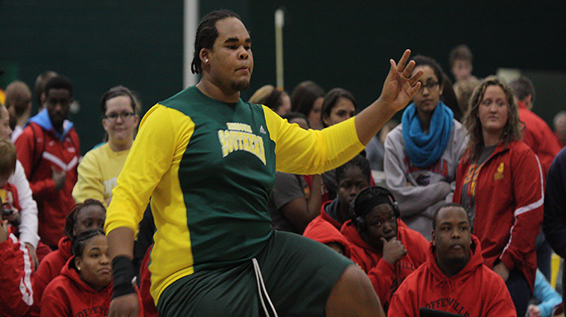 Bryan Burns Named MIAA Men's Field Athlete of the Week