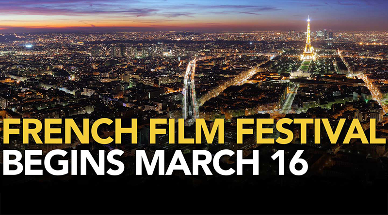French film festival to begin March 16