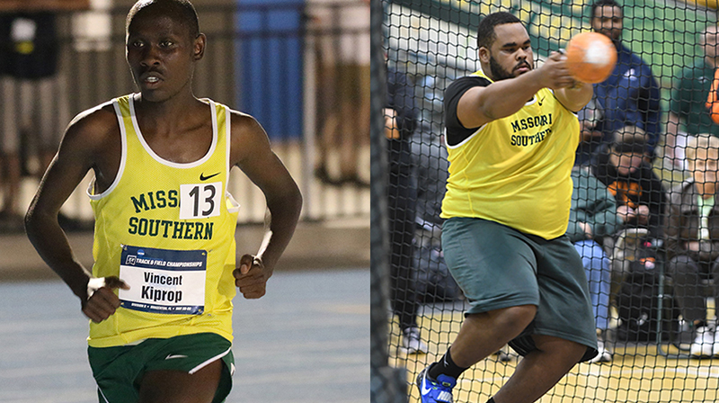 Burns and Kiprop Earn MIAA Weekly Honors