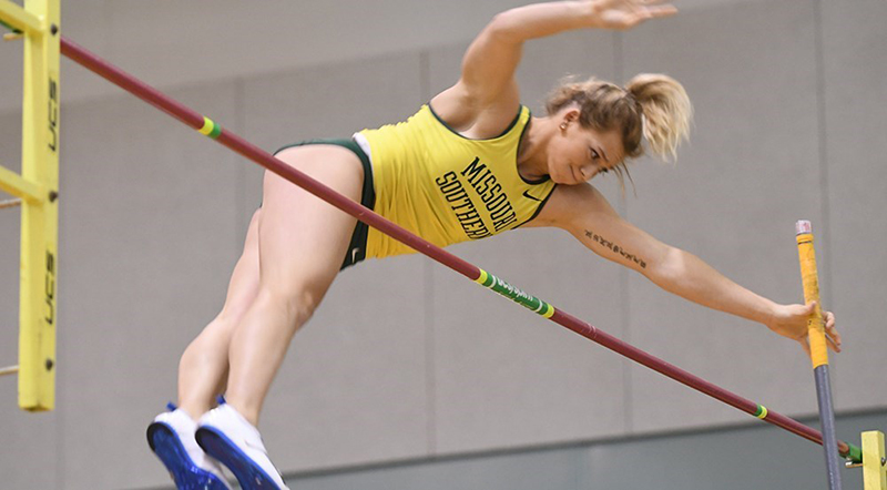 Emily Presley Named MIAA Women's Field Athlete of the Week