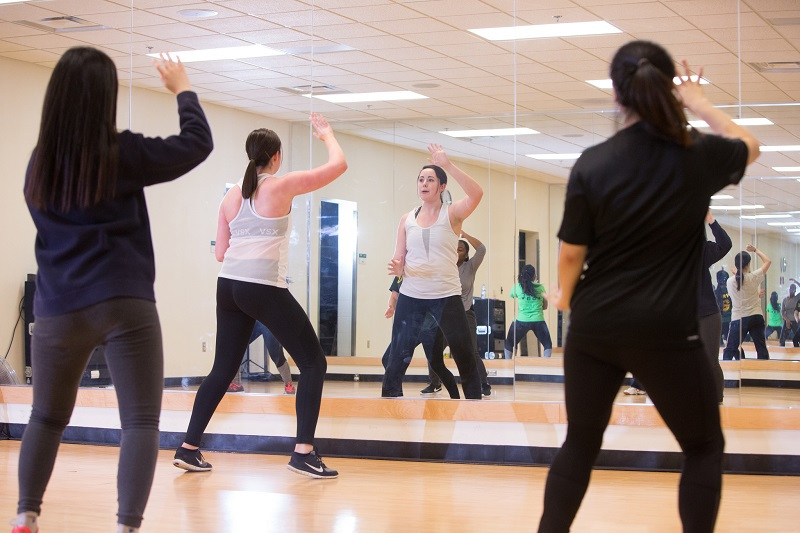 New fitness classes offered at Rec Center