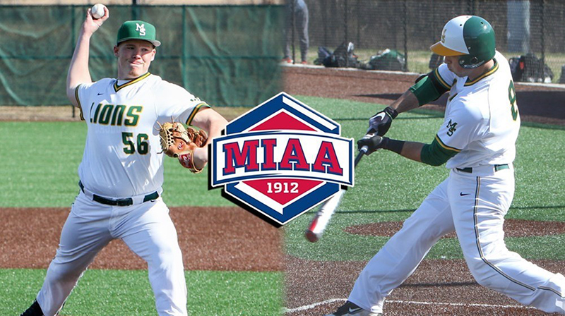 Baseball Sweeps MIAA Athlete of the Week Honors