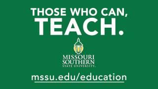 MSSU Teacher Education Commercial