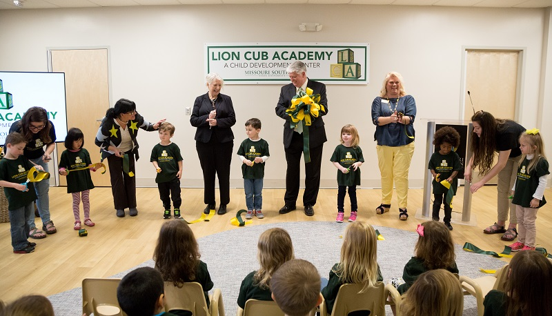 Ribbon cut at new Lion Cub Academy
