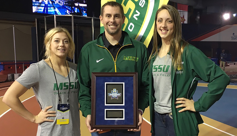 MSSU Women's Track and Field Earns NCAA Top GPA Award