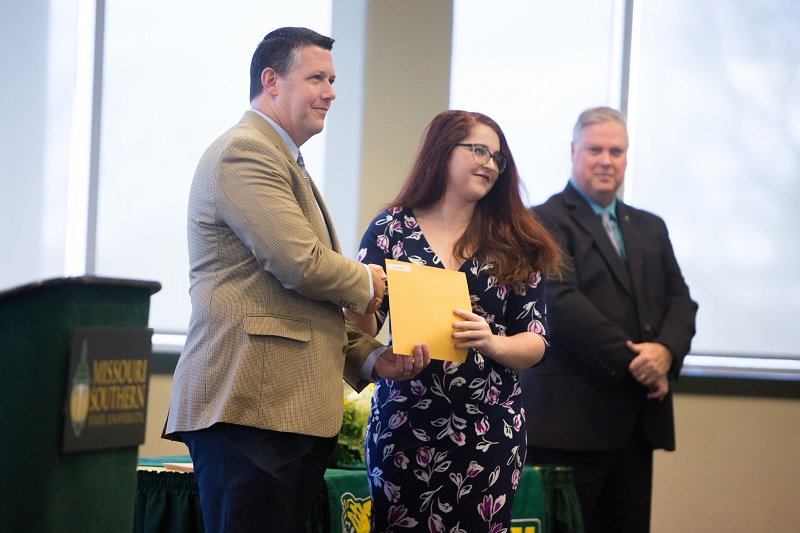 Students honored during Dolence Awards ceremony