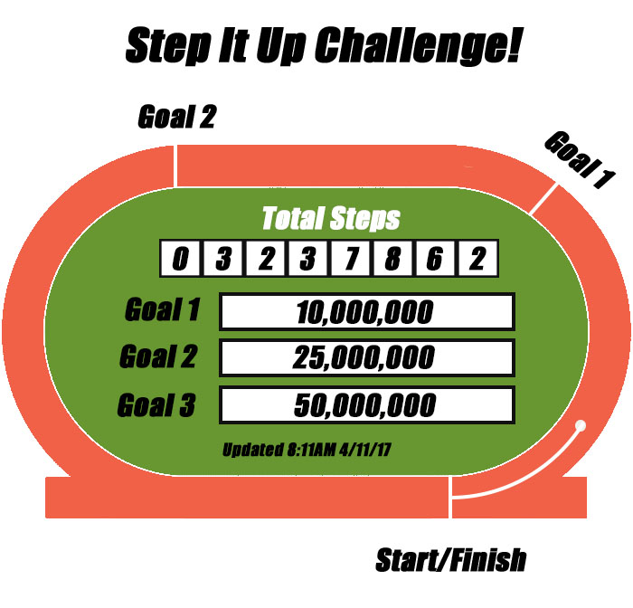 Step It Up Challenge: Making Progress!