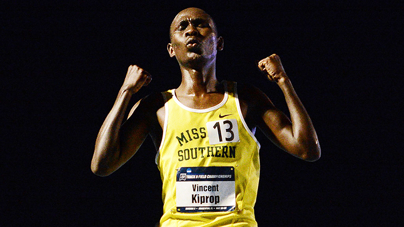 Vincent Kiprop Named USTFCCCA National Athlete of the Week