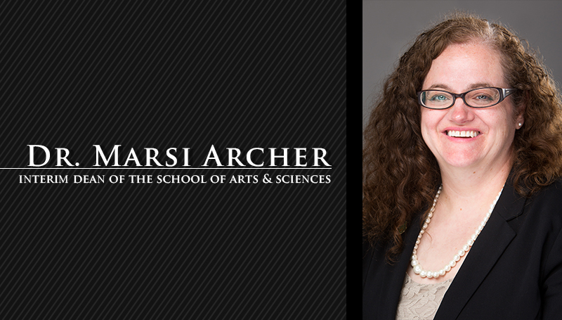 Marsi Archer named interim dean of Arts & Sciences at MSSU