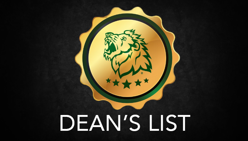 Fall 2018 Deans List