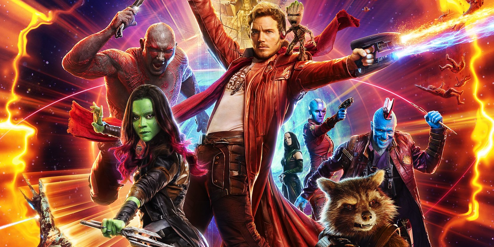 CAB to screen 'Guardians of the Galaxy: Vol. 2'